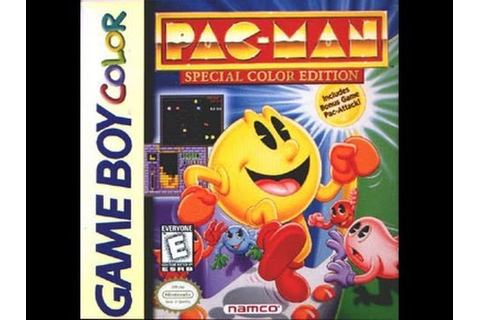 Pac-Man: Special Color Edition (Nintendo Game Boy Color ...