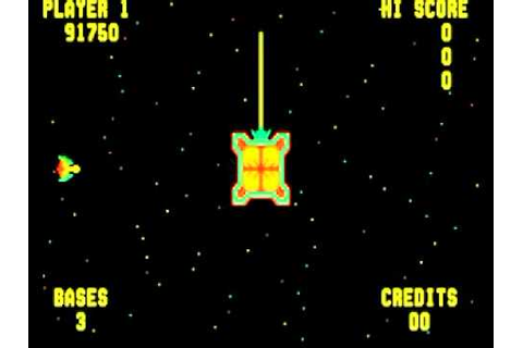 SPACE ZAP ARCADE HD MIDWAY 1980 RETRO CLASSIC MAME GAME ...