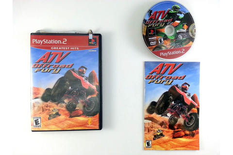 ATV Offroad Fury game for Playstation 2 (Complete) | The ...