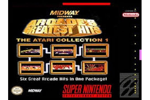 Arcade's greatest hits (SNES) Review - YouTube