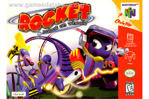 Rocket: Robot on Wheels - Nintendo N64 - Games Database