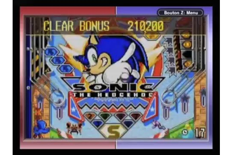 RETRO VALUE - Sonic Pinball Party [Game Boy Advance] - YouTube