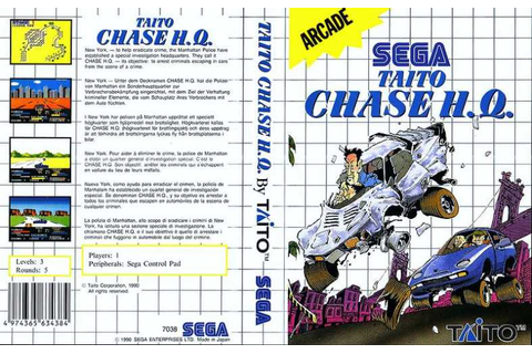 Chase H.Q. | 80'S Top Games