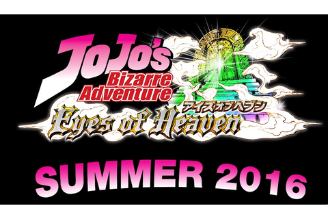 Jojo's Bizarre Adventure: Eyes of Heaven - Jojolion Launch ...