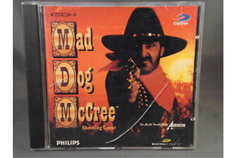 1994 Philips CDI Mad Dog McCree Shooting Game | eBay