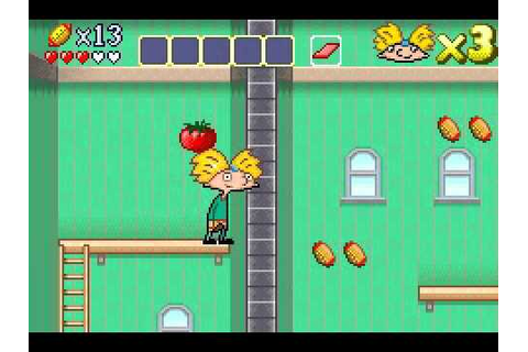 Hey Arnold! The Movie (Game Boy Advance) with commentary ...