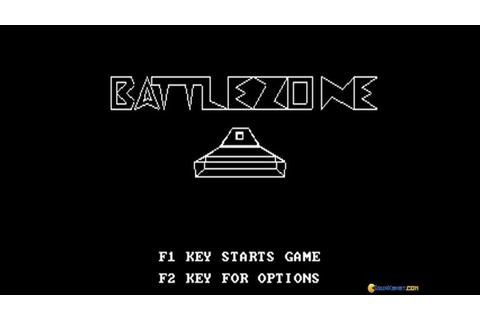 Battlezone (1980) gameplay (PC Game, 1980) - YouTube