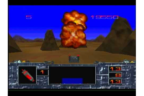 missile command 3d atari jaguar high quality s video - YouTube