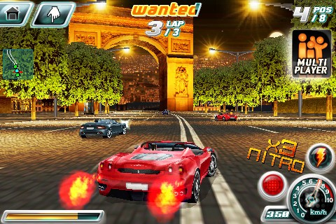 Asphalt 4: Elite Racing - Download ios game