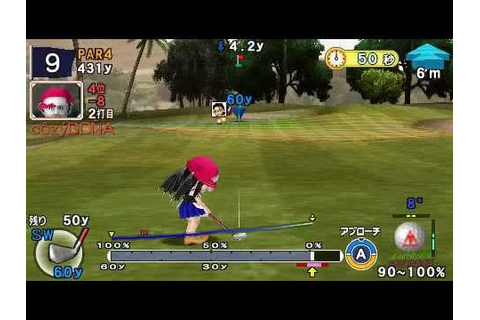 Everybody's Golf Portable 2 for PSP Online Tournament #0(2 ...
