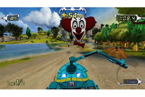 Excitebots: Trick Racing (Wii) Screenshots