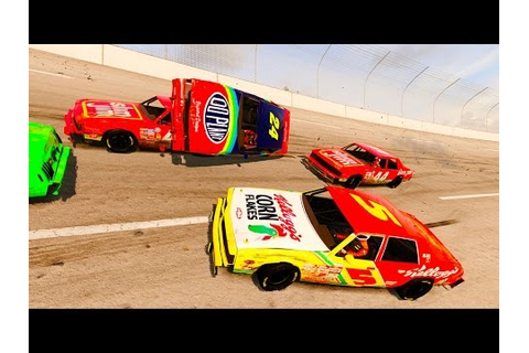 NASCAR LEGENDS AND TALLADEGA CRASHES! - Next Car Game ...
