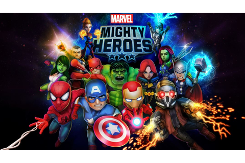 Marvel & DeNA releases free mobile games Marvel Mighty ...