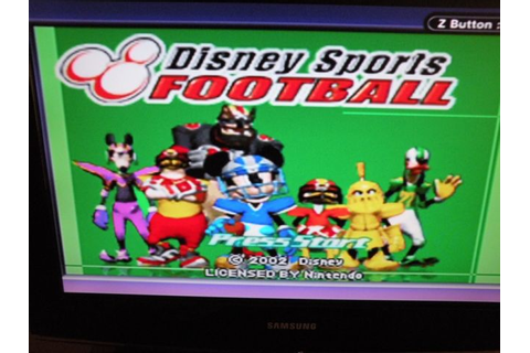 Disney Sports Football (Nintendo Game Boy Advance, 2002 ...