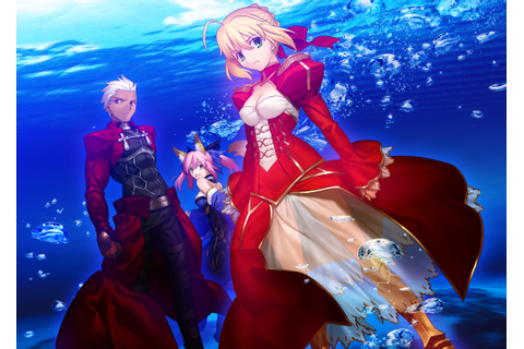 [Video Game Review]: Fate/Extra | The Geek Clinic
