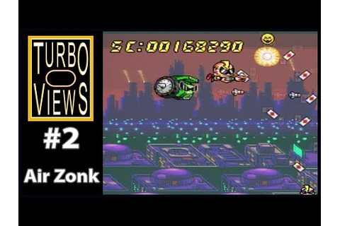 """Air Zonk"" - Turbo Views #2 (TurboGrafx-16 / Duo game ..."