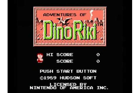 Adventures of Dino Riki (NES) Music - Game Over - YouTube