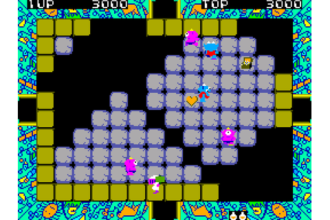 Pit Pot (1985) by Sega Master System game