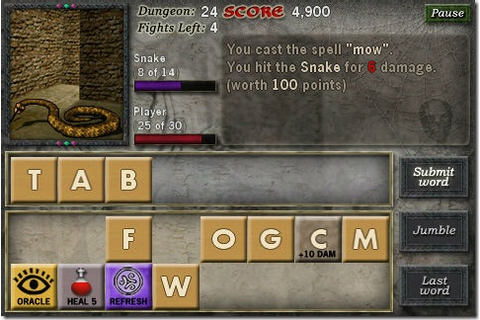 Dungeon Scroll Word Based RPG Game Comes to the PlayBook ...