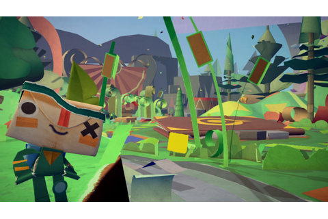 Announcing our next game: Tearaway! | Media Molecule