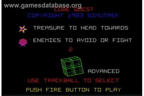 Cube Quest - Arcade - Games Database