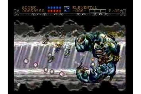 Gynoug (MegaDrive) gameplay Stage6 - YouTube