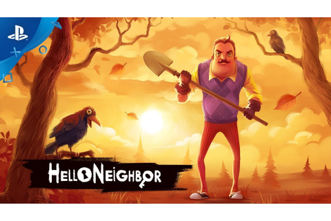 Hello Neighbor – Announce Trailer | PS4 - YouTube