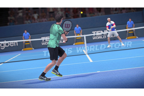 Tennis World Tour 2 Gameplay First Look - YouTube