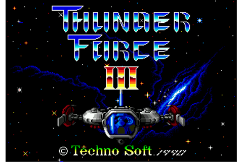 Download Thunder Force III (Genesis) - My Abandonware