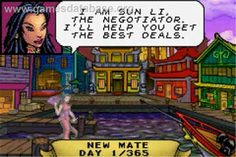 Sea Trader: Rise of Taipan - Nintendo Game Boy Advance ...