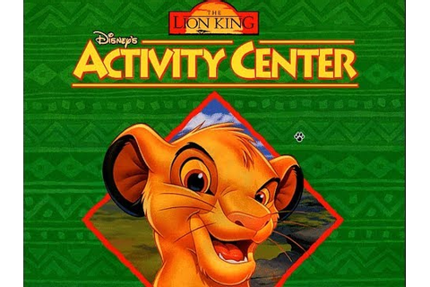 The Lion King: Activity Center PC Gameplay - YouTube
