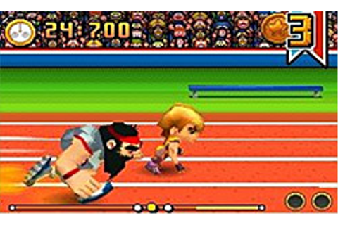 New International Track & Field Review for the Nintendo DS ...