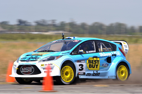 Ford Fiesta X Games 17 RallyCross Practice Photo Gallery ...