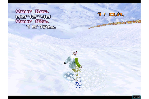 Trick'n Snowboarder for Sony Playstation - The Video Games ...