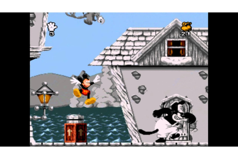 A Primeira Fase - Mickey Mania - Super Nintendo - YouTube