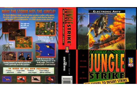 Jungle Strike (UEJ) ROM - SEGA Genesis (Genesis ...