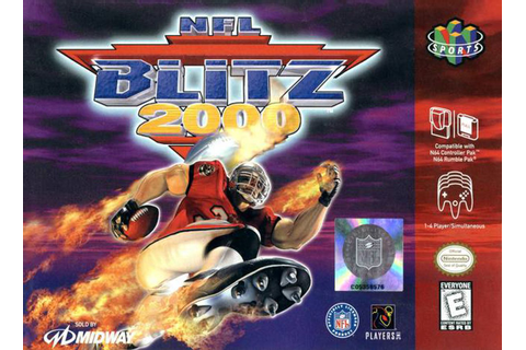 Why NFL Blitz 2000 is my favorite football video game of ...