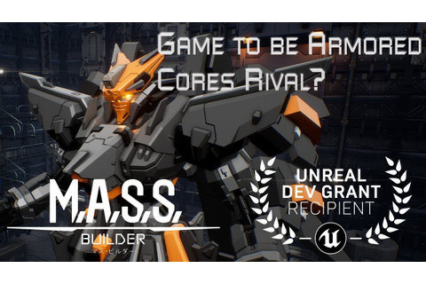 Armored Core 6 Rival? M.A.S.S Builder Insane Mecha Game ...