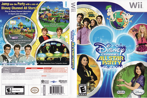 SDGE4Q - Disney Channel: All Star Party