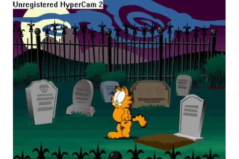 Garfield's scary scavenger hunt walkthrough (part 1) - YouTube