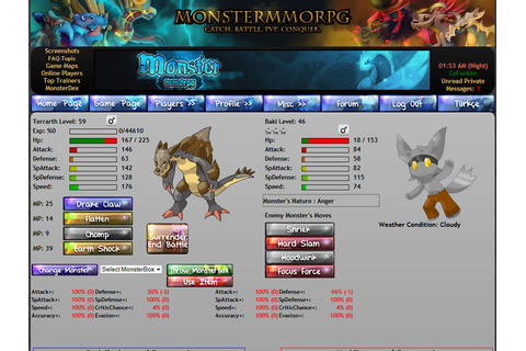 Reviews for Monster MMORPG browser game