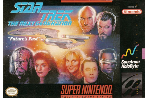 Star Trek: The Next Generation - Echoes from the Past ...