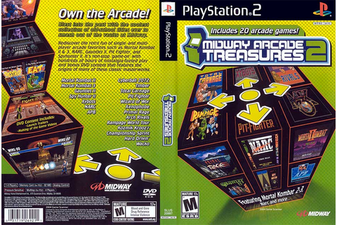 Midway Arcade Treasures 2 (USA) ISO