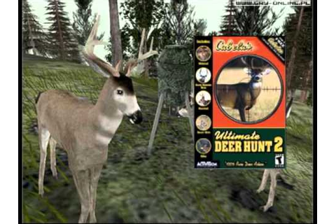 Cabelas Ultimate Deer Hunt 2 Menu Soundtrack - YouTube