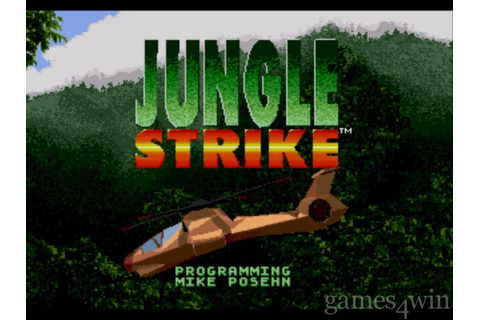 Jungle Strike. Download and Play Jungle Strike Game ...