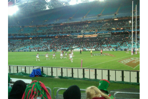 Australian Sport: NRL: National Rugby League Game