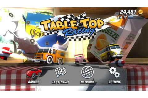 Table Top Racing Review for PS Vita (2014) - Defunct Games