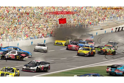 NASCAR 15 The Game Crash Compilation 2 - YouTube