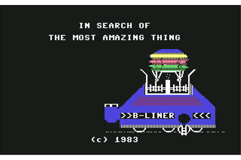 Download In Search of The Most Amazing Thing - My Abandonware
