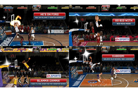 NBA JAM by EA SPORTS Apk + SD Data | Android Games Download